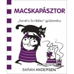 """Sarah Andersen: Macskapásztor - """"Sarah's Scribbles"""" gyűjtemény"""