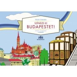 Tálos Tamara: Színezd ki Budapestet!