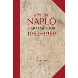 Márai Sándor: A teljes napló 1982-1989 - díszkiadás
