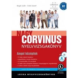 Bogár Judit - Erdei József: Nagy Corvinus Nyelvizsgakönyv - Angol középfok - CD melléklettel (mp3) és letölthető hanganyaggal