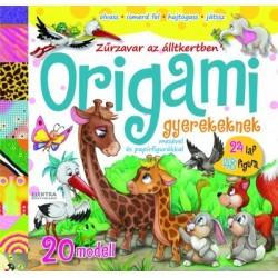 Origami gyerekeknek - Zűrzavar az állatkertben