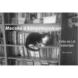 Cseri Zsolt: Macska a könyvespolcon