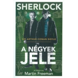 Arthur Conan Doyle: Sherlock Holmes: A négyek jele (Filmes borítóval)