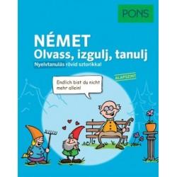Stephanie Bernhuber: PONS Német - Olvass, izgulj, tanulj - Nyelvtanulás rövid sztorikkal - Alapszint