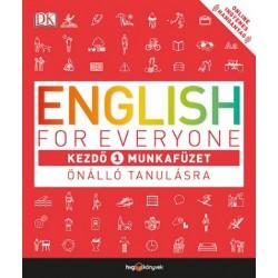 Thomas Booth: English for Everyone - Kezdő 1. munkafüzet - Önálló tanulásra