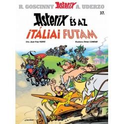 Jean-Yves Ferri: Asterix 37. - Asterix és az itáliai futam