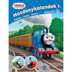 Thomas, a gőzmozdony - Mozdonykalandok 1. - Thomas, Henry, James
