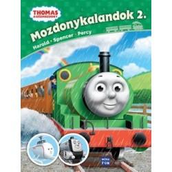 Thomas, a gőzmozdony - Mozdonykalandok 2. - Harold, Spencer, Percy