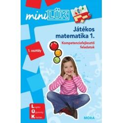 Játékos matematika 1. - LDI218 - Kompetenciafejlesztő feladatok - MiniLÜK