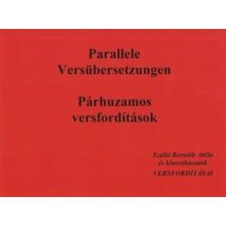 Szalki Bernáth Attila: Párhuzamos versfordítások