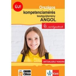 Pojják Klára: Országos kompetenciamérés tesztgyűjtemény angol - 6. osztályosoknak - Aktualizált kiadás + Ingyenes Applikáció