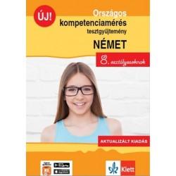 Gyuris Edit - Sárvári Tünde: Országos kompetenciamérés tesztgyűjtemény német - 8. osztályosoknak - Aktualizált kiadás + Ingye...