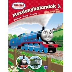 Thomas, a gőzmozdony - Mozdonykalandok 3. - Emily, Gordon és Cranky