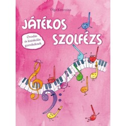 Olga Kamozina: Játékos szolfézs - Óvodás és kisiskolás gyerekeknek - Mesekönyv matricákkal és kártyákkal