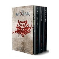 Piotr Kowalski - Joe Querio - Paul Tobin: The Witcher - A teljes sorozat képregény 1-3. kötet - díszdobozban