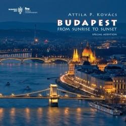 Kovács P. Attila: Budapest fotóalbum - Napkeltétől napnyugtáig (angol) - FINA 2017