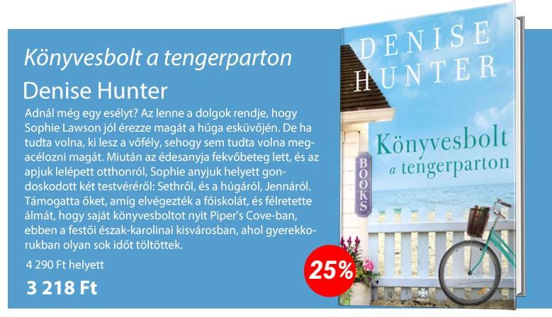 Denise Hunter: Könyvesbolt a tengerparton