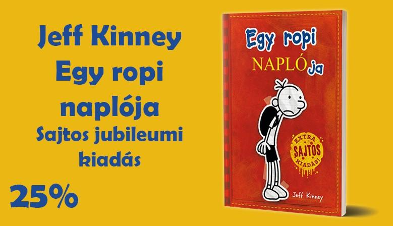 Jeff Kinney: Egy ropi naplója