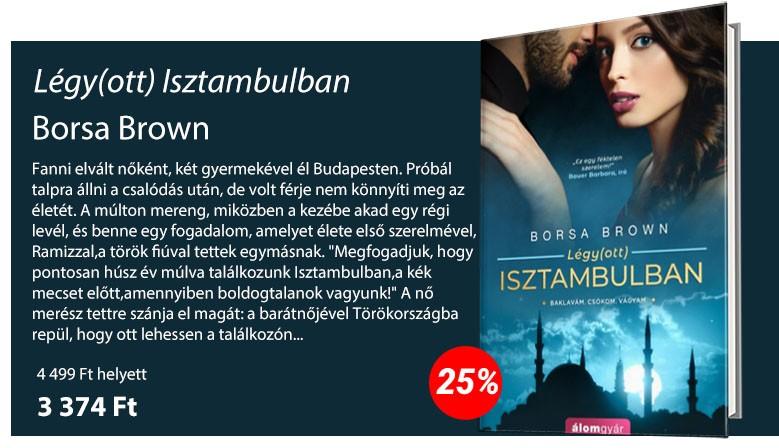 Borsa Brown: Légy(ott) Isztambulban